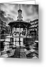 Bridgeton Cross Bandstand Glasgow Greeting Card by John Farnan