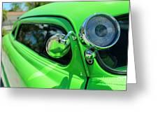 Bright Green Greeting Card