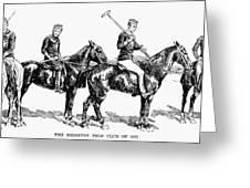 Brighton Polo Club, 1877 Greeting Card