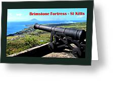 Brimstone Fortress Poster Greeting Card