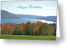 Bristol Harbor Birthday  Greeting Card