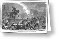 Bristol: Reform Riot, 1831 Greeting Card
