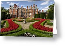 British Garden  Greeting Card