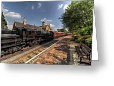 British Locomotion Greeting Card