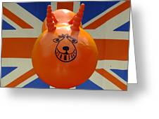 British Space Hopper Greeting Card