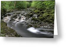 Broadwood Falls Hdr Greeting Card