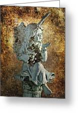 Broken Angel Greeting Card
