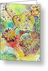 Broken Leaf Greeting Card by Karen Fleschler