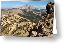 Brokeoff Mountain Peak Greeting Card
