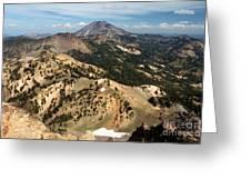 Brokeoff Mountain Scenery Greeting Card