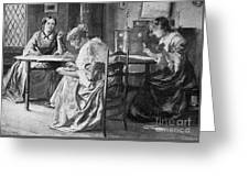 Bront� Sisters Greeting Card by Granger