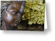 Bronze Gaze Greeting Card