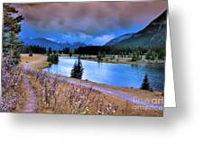 Brooding Skies Greeting Card