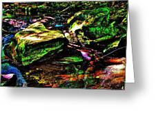 Brook Texture 127 Greeting Card