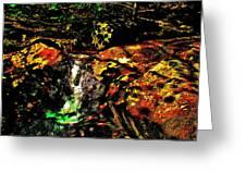 Brook Texture 162 Greeting Card