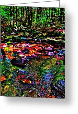 Brook Texture 34 Greeting Card