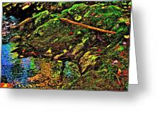 Brook Texture 49 Greeting Card