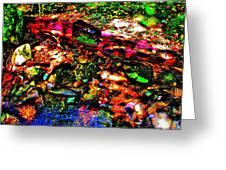 Brook Texture 54 Greeting Card