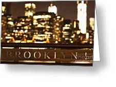 Brooklyn Bubbly Greeting Card