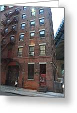 Brooklyn New York - 126 Front Street. Greeting Card