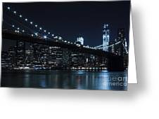 Brooklyn Nights Greeting Card