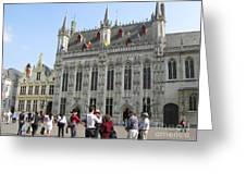 Brugge 2011 Greeting Card