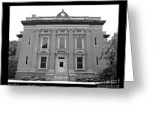 Brunswick Historical Court House Greeting Card
