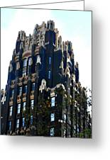 Bryant Park Hotel - Nyc Greeting Card by Kimberly Perry