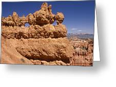 Bryce Canyon - Mask Formation Greeting Card