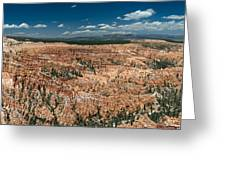 Bryce Canyon Panaramic Greeting Card