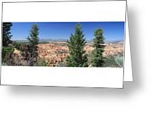 Bryce Canyon Panoramic Greeting Card