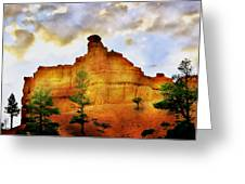 Bryce National Park Sunset Greeting Card