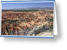 Bryce Point 5451 Greeting Card