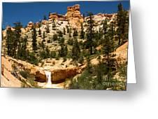 Bryce Water Canyon Greeting Card