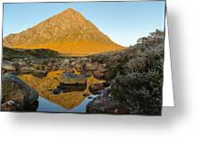 Buachaille Etive Mor At Sunrise Greeting Card by Ben Spencer