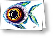 Bubble Fish One Greeting Card