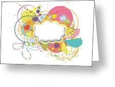 Bubble Speech Greeting Card