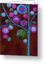 Bubble Tree - W02d - Left Greeting Card