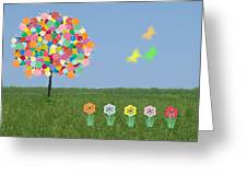 Bubblegum Tree Greeting Card