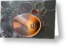 Bubbles V Greeting Card