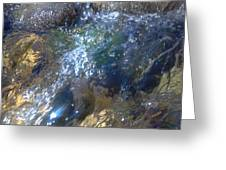 Bubbling Water Greeting Card