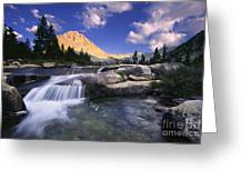 Bubbs Creek Greeting Card by Buck Forester