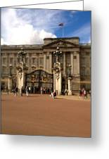 Buckingham Palace Greeting Card by John Colley