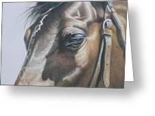 Buckles And Belts In Colored Pencil Greeting Card