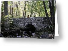 Bucks County Stone Bridge Greeting Card