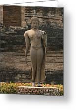 Buddha At Sukhothai 3 Greeting Card