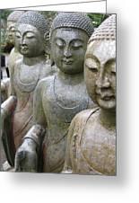 Buddha City2 Greeting Card
