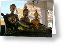 Buddha Figures Greeting Card