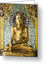 Buddha In Glass Greeting Card