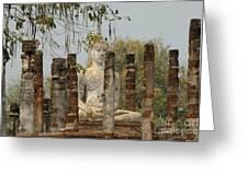 Buddha In Thailand Greeting Card